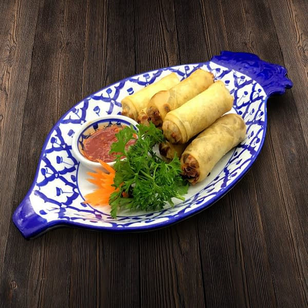 Thai Food Delivery Kuala Lumpur Yam _ Vege Spring Rolls