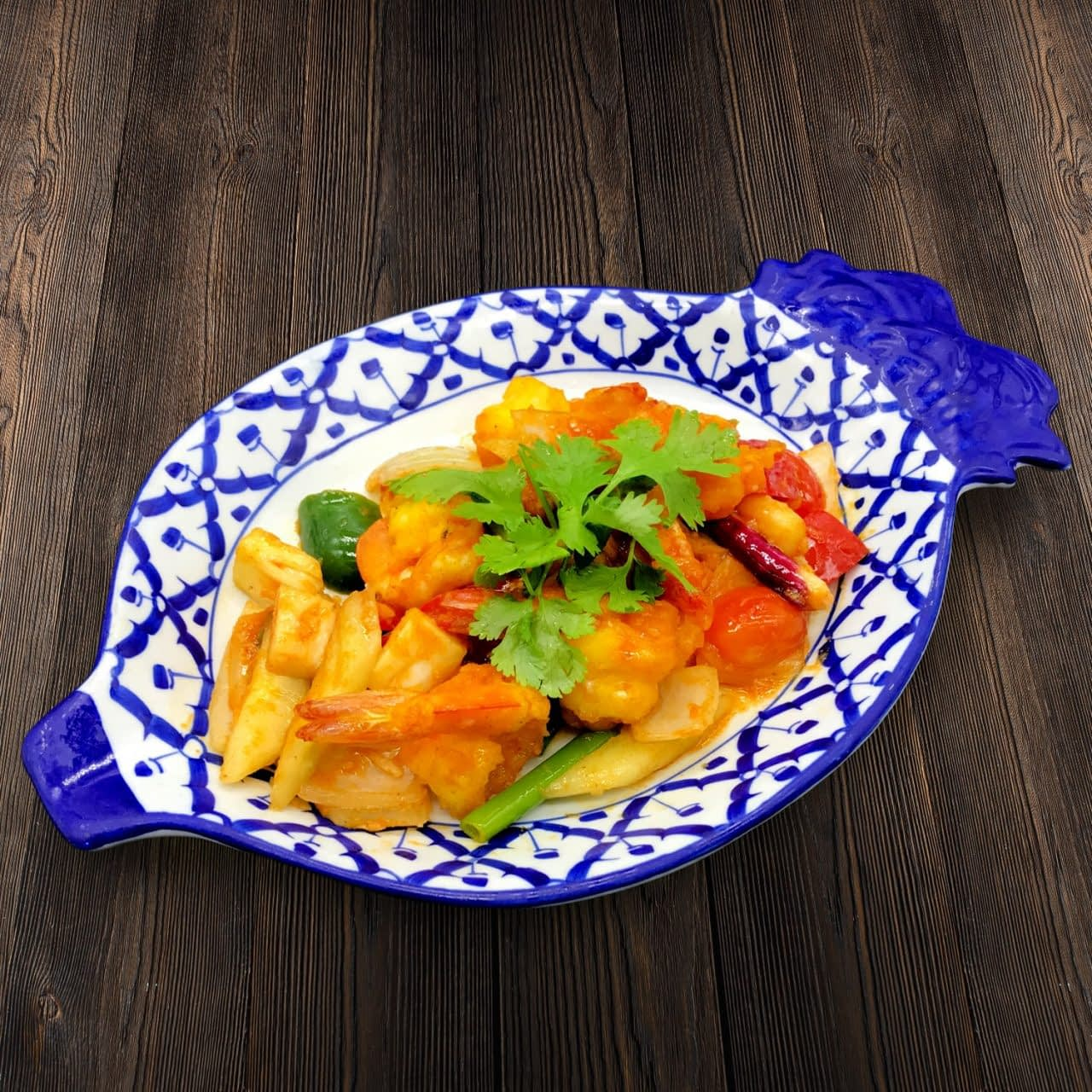 Thai Food Delivery Kuala Lumpur Sweet _ Sour Prawn-min