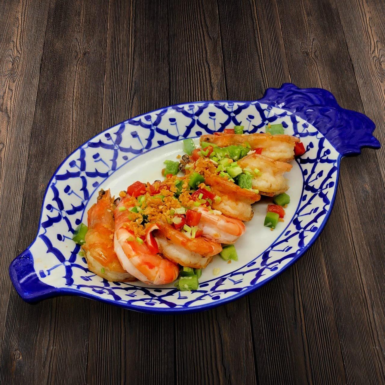 Thai Food Delivery Kuala Lumpur Garlic _ Chilies Prawn
