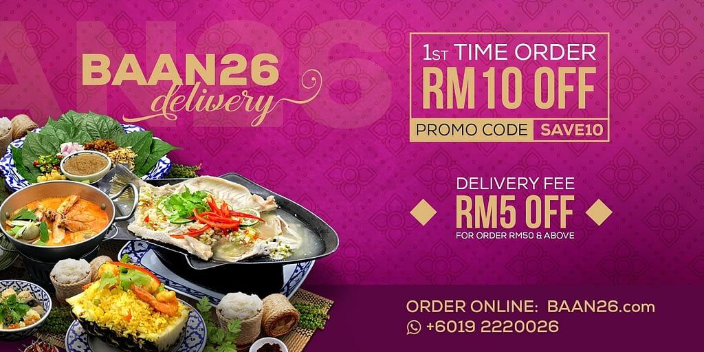 Thai Cuisine Delivery Kuala Lumpur KL