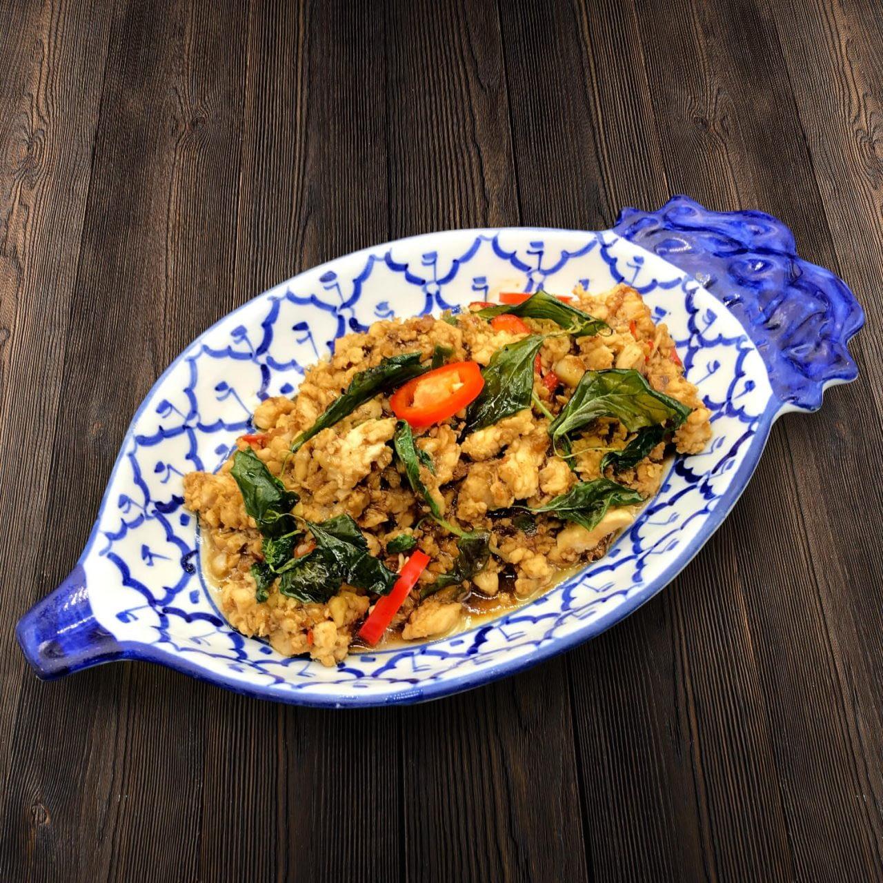 Thai Food Delivery Kuala Lumpur Thai Basil Leaf Minced Chicken