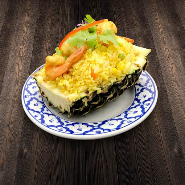 Thai Food Delivery Kuala Lumpur Thai Pineapple Fried Rice with Shrimp