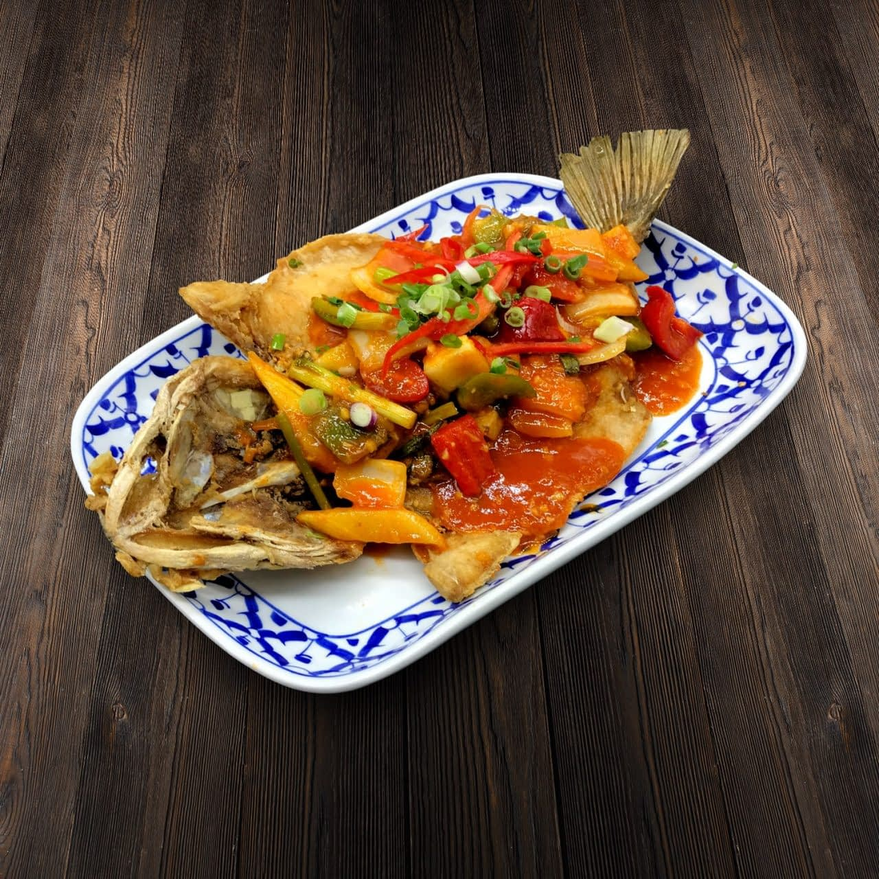 Thai Food Delivery Kuala Lumpur Sweet _ Sour Seabass-min