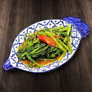 Thai Food Delivery Kuala Lumpur Kangkung with Belacan (Shrimp paste)