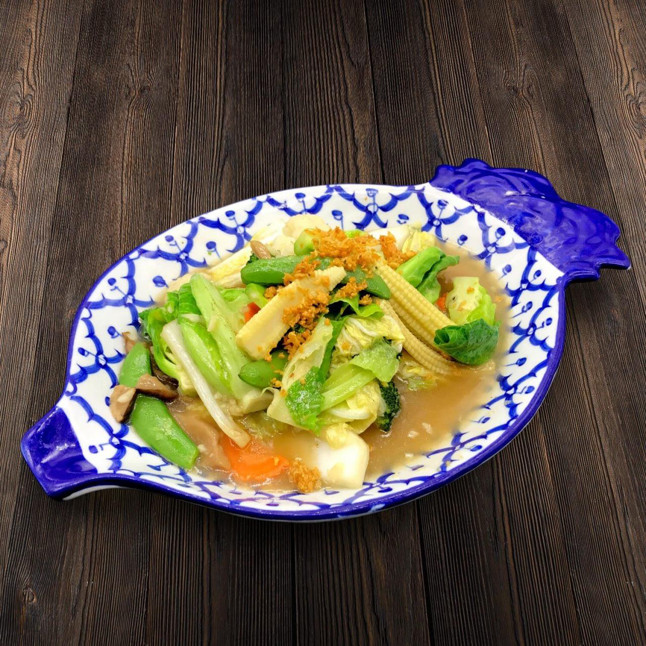 Thai Food Delivery Kuala Lumpur Thai Style Mix Vegetable