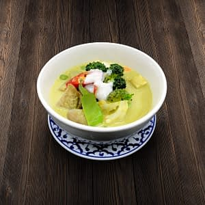 Thai Food Delivery Kuala Lumpur Green Curry Vegetable