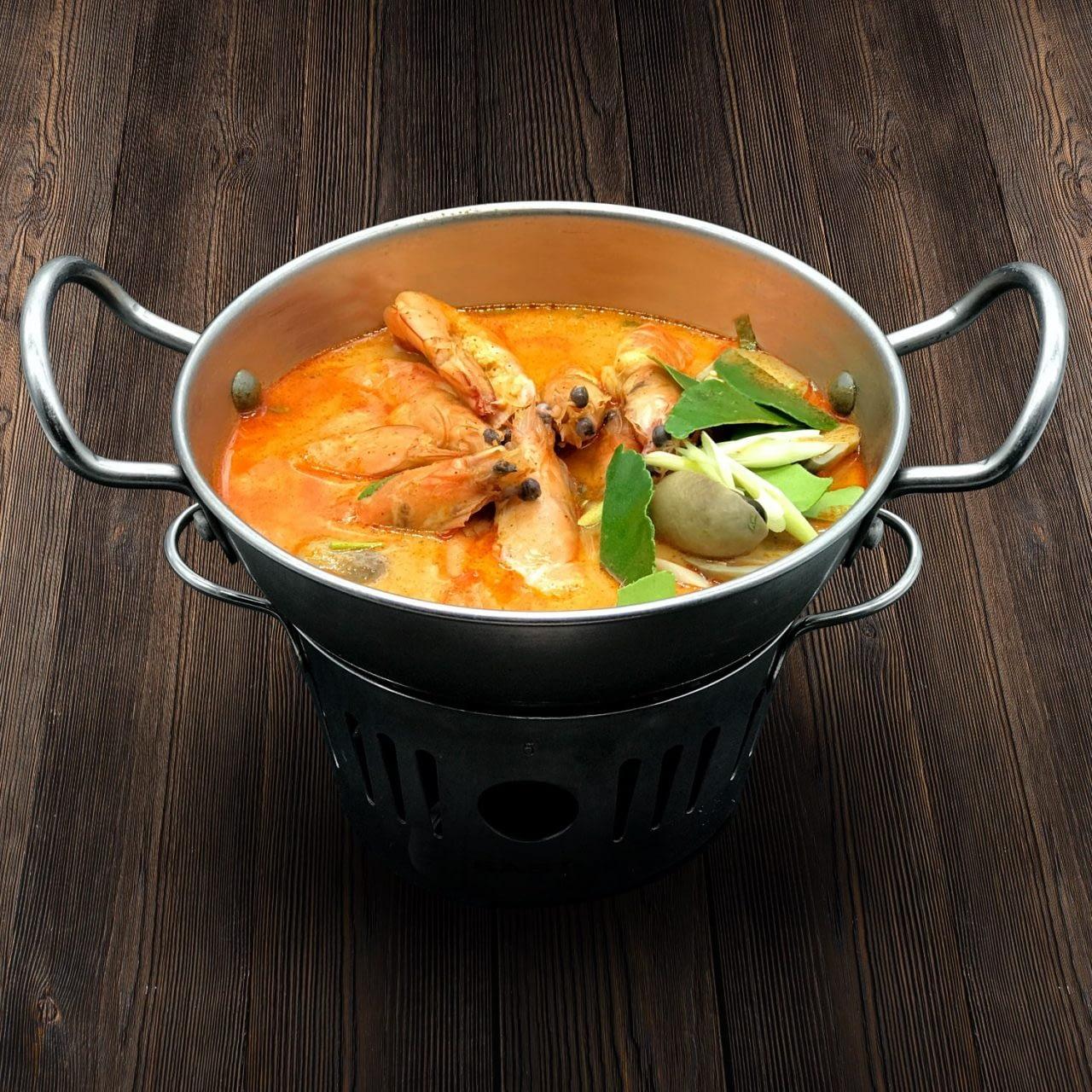 Thai Food Delivery Kuala Lumpur Spicy Tom Yam Prawn Soup