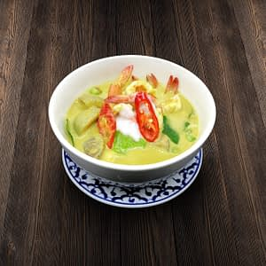 Thai Food Delivery Kuala Lumpur Green Curry Prawn