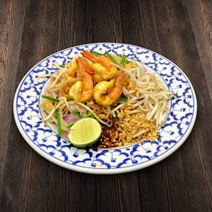 Thai Food Delivery Kuala Lumpur Pad Thai with Shrimp-min