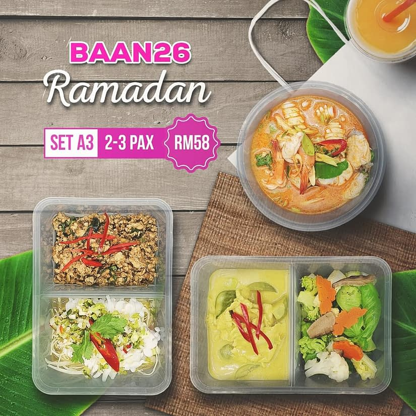 BAAN SET RAMADAN THAI FOOD DELIVERY
