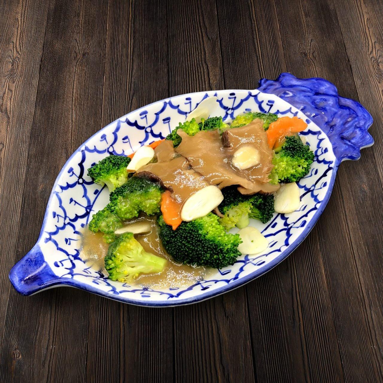 Thai Food Delivery Kuala Lumpur Broccoli with Garlic