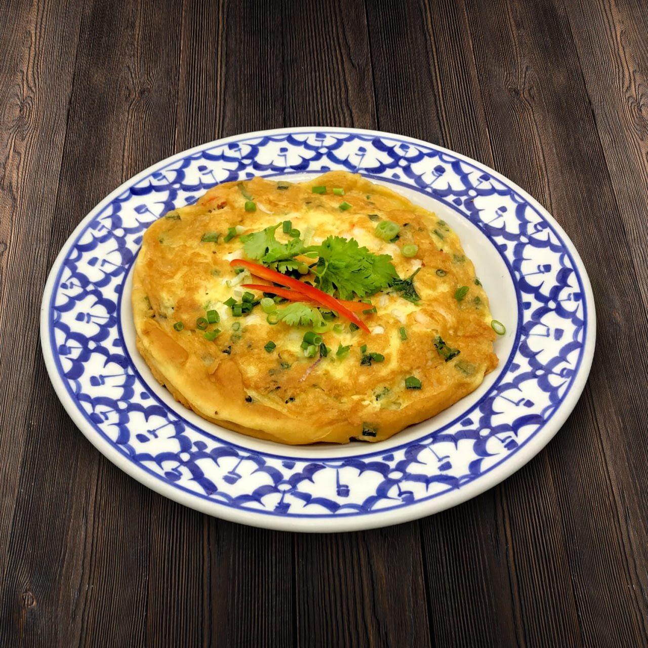 Thai Food Delivery Kuala Lumpur Thai Plain Omelet