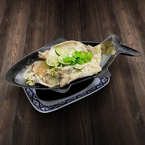 Thai Food Delivery Kuala Lumpur Garlic _ Lime Seabass